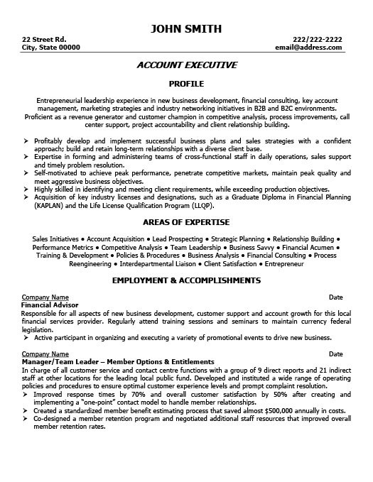 account executive resume template premium samples example oil and gas examples vp Resume Oil And Gas Resume Examples