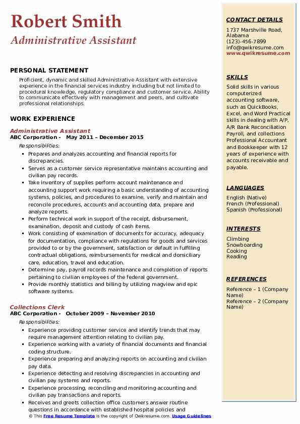 administrative assistant resume samples qwikresume title pdf brand manager objective dice Resume Administrative Assistant Resume Title