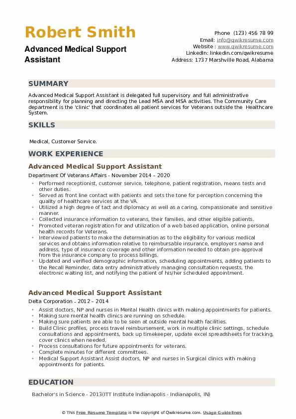 advanced medical support assistant resume samples qwikresume sample pdf nerd contact Resume Medical Support Assistant Resume Sample