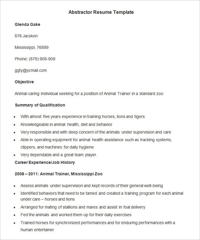 agriculture resume templates pdf free premium horticulture manager abstractor template Resume Horticulture Manager Resume