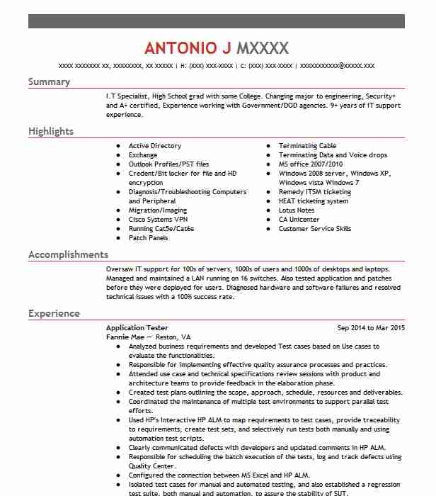 application tester resume example testlio walnut testing points retail assistant manager Resume Mobile Testing Resume Points