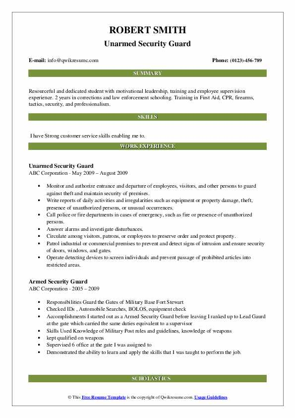 armed security guard resume samples qwikresume officer job description for pdf donor Resume Armed Security Officer Job Description For Resume