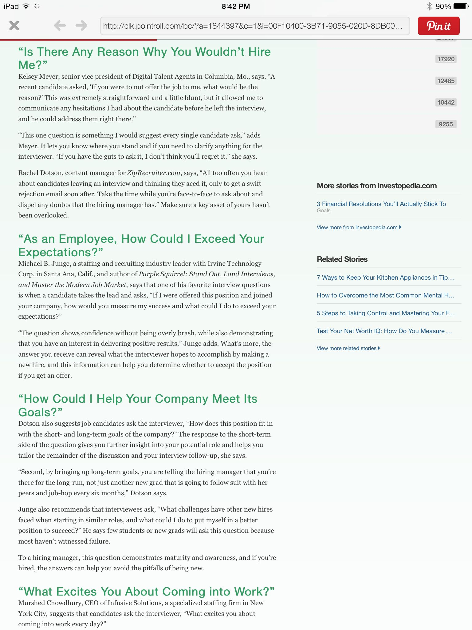 ask the interviewer question my future job jobs this or that questions haslam college of Resume Haslam College Of Business Resume Template