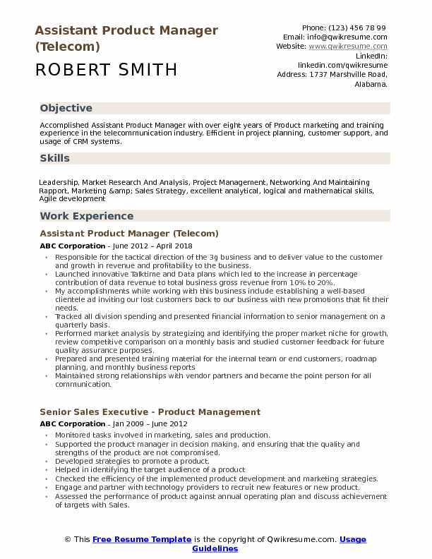 assistant product manager resume samples qwikresume template pdf legal secretary cliche Resume Product Manager Resume Template