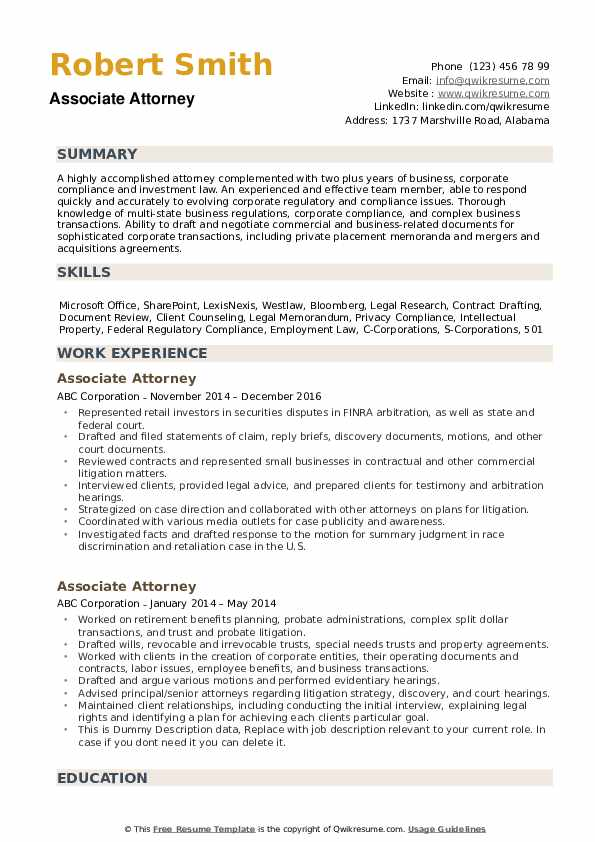 associate attorney resume samples qwikresume immigration sample pdf training keywords for Resume Immigration Attorney Resume Sample