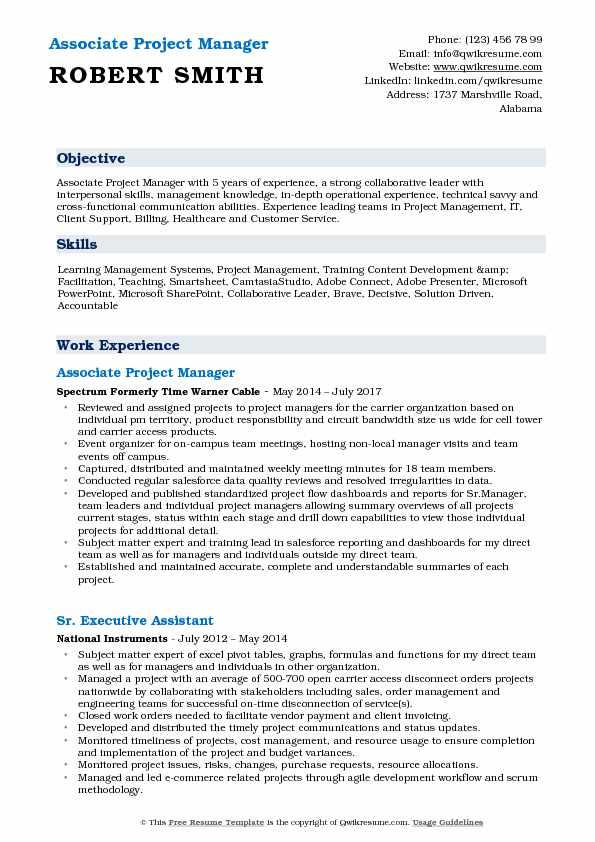 associate project manager resume samples qwikresume construction objective examples pdf Resume Construction Manager Resume Objective Examples