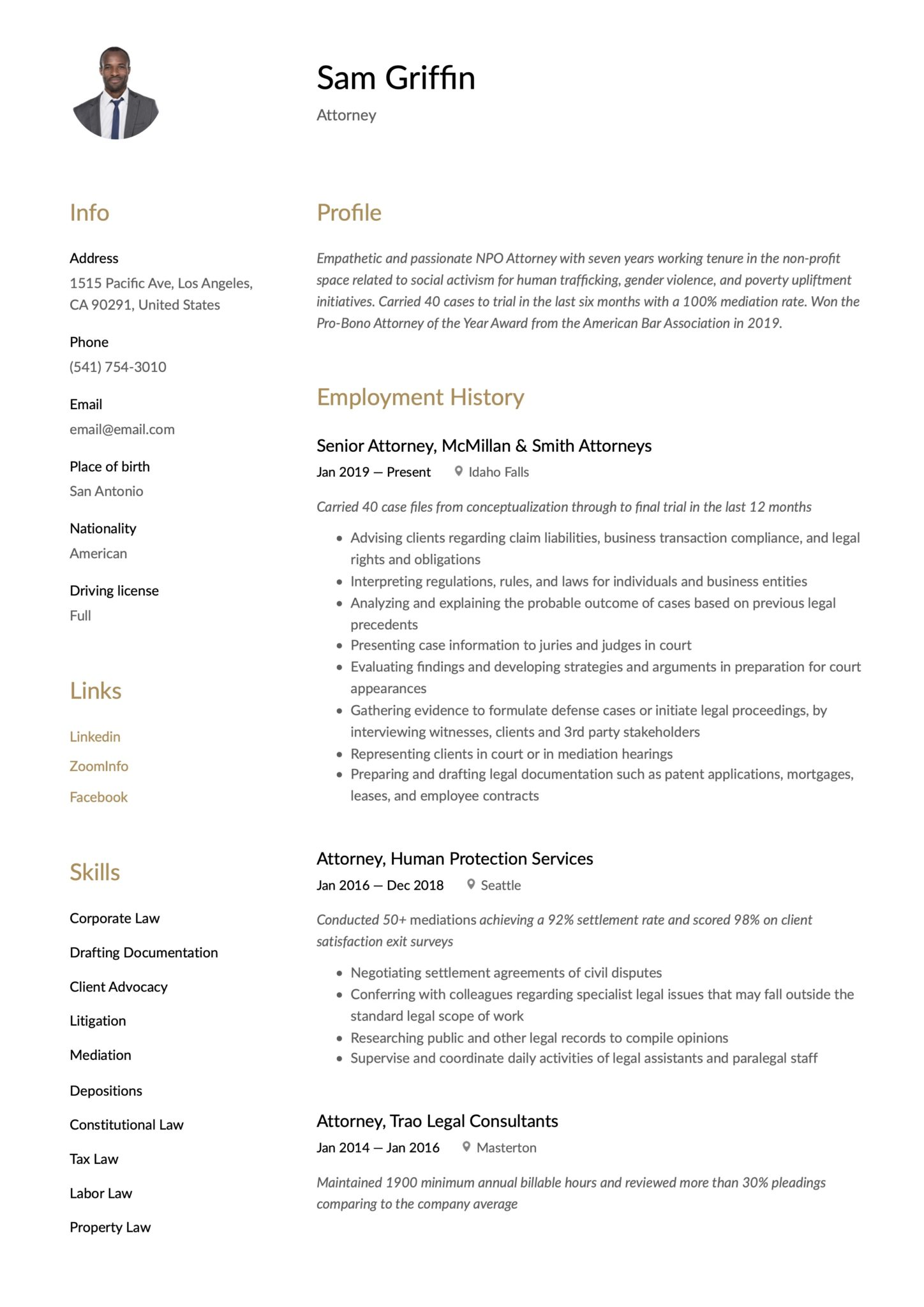 attorney resume examples writing guide pdf word patent sample scaled customer service Resume Patent Attorney Resume Sample