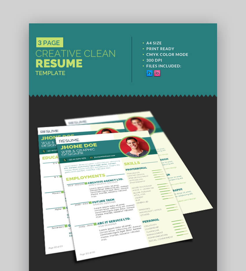 attractive eye catching resume cv templates with stylish aesthetics professional creative Resume Professional Eye Catching Resume