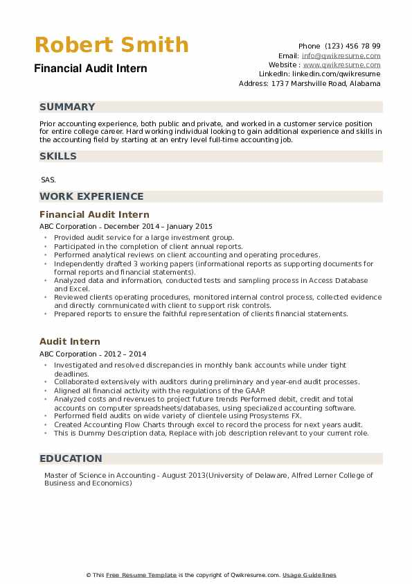 audit intern resume samples qwikresume description pdf great department manager training Resume Audit Intern Resume Description