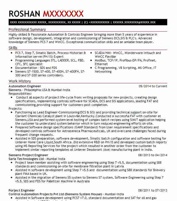 automation project engineer resume example wds engineering north carolina template Resume Automation Engineer Resume Template