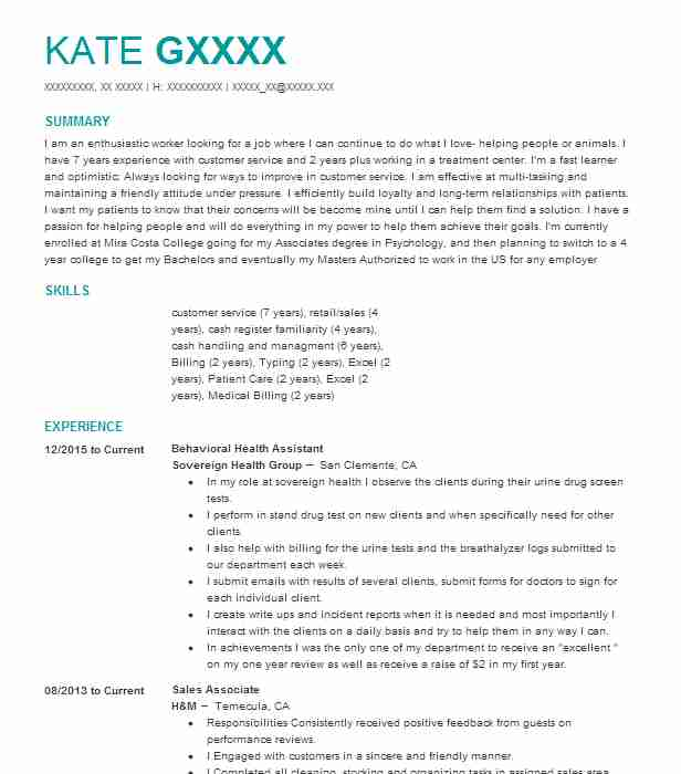 behavioral assistant resume example department of corrections mackie college optimal Resume Brown Mackie College Optimal Resume