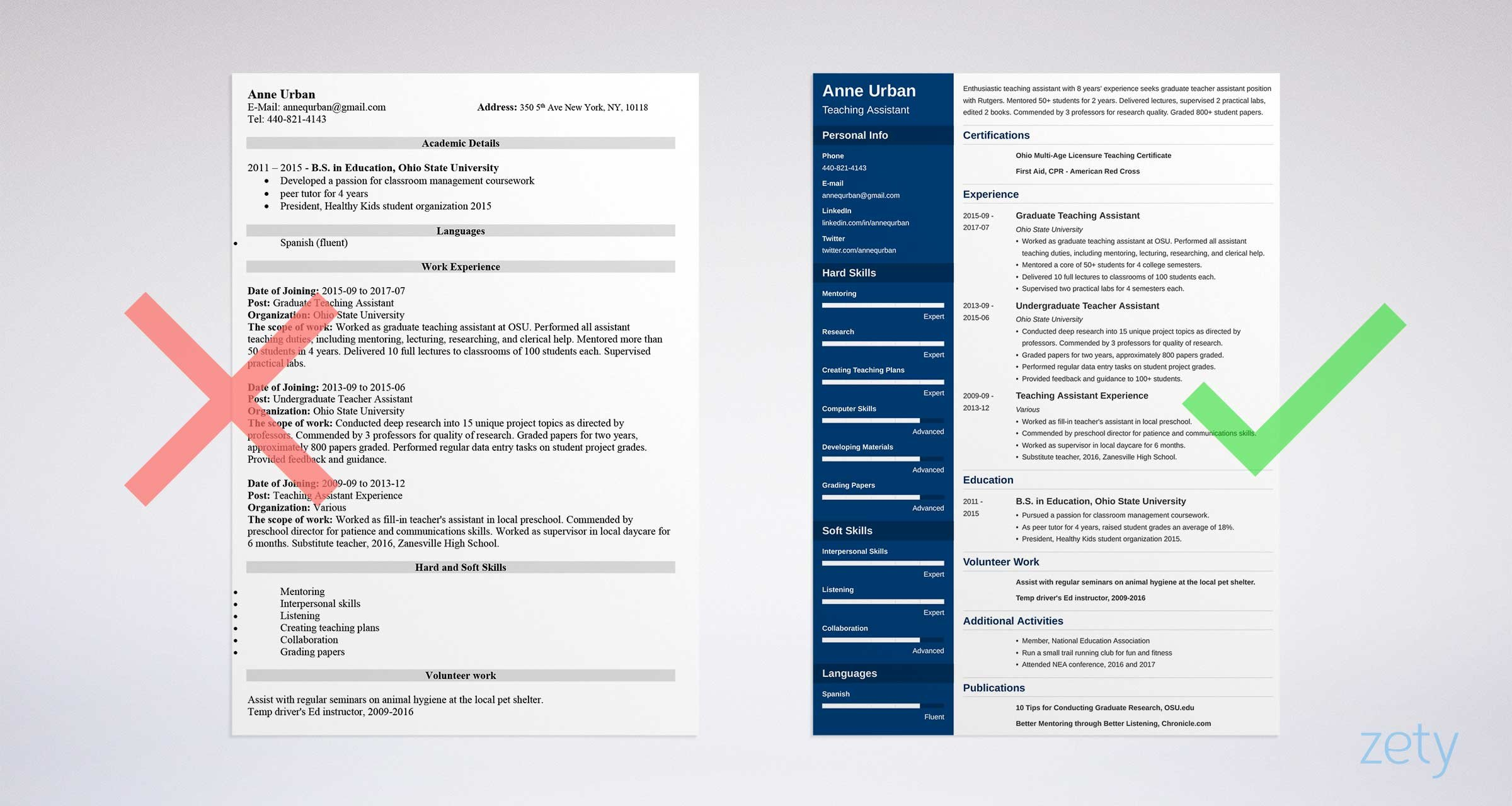 best font for resume size standard professional pairings suggestions teaching assistant Resume Resume Font Suggestions