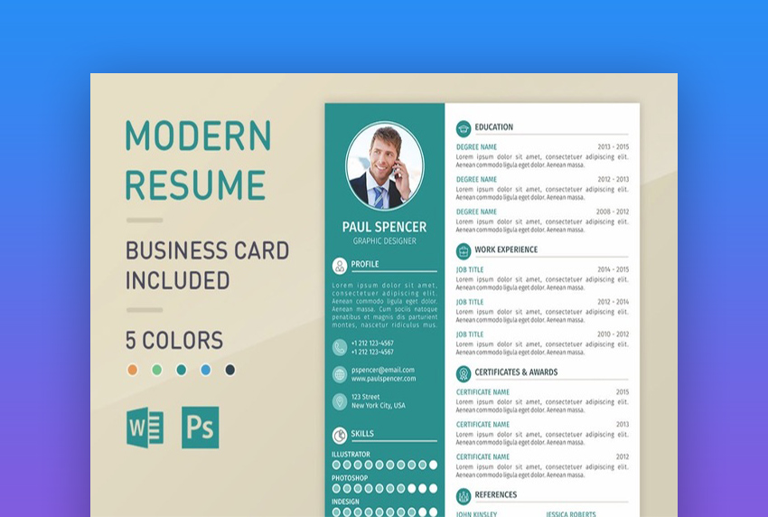 best one resume templates simple to use format examples summary modernresume personal Resume One Page Summary Resume