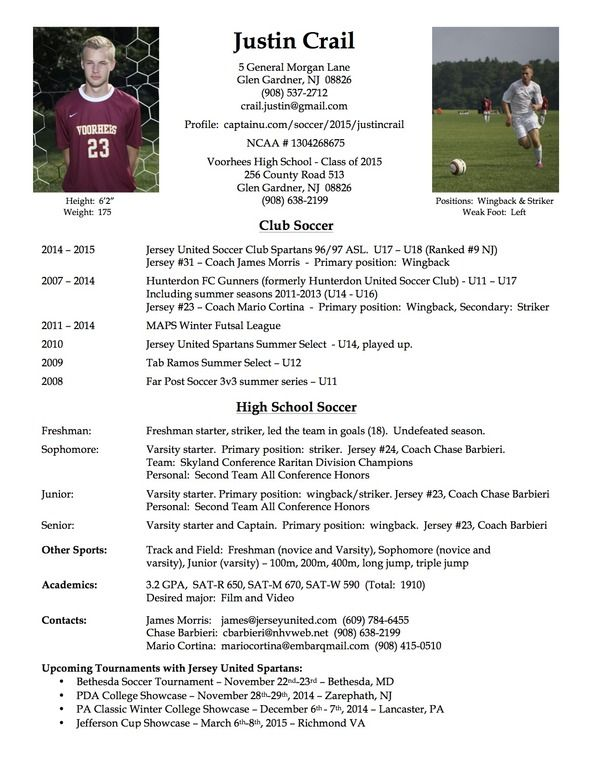 best photos of soccer player resume example football samples coach template and college Resume Professional Hockey Player Resume