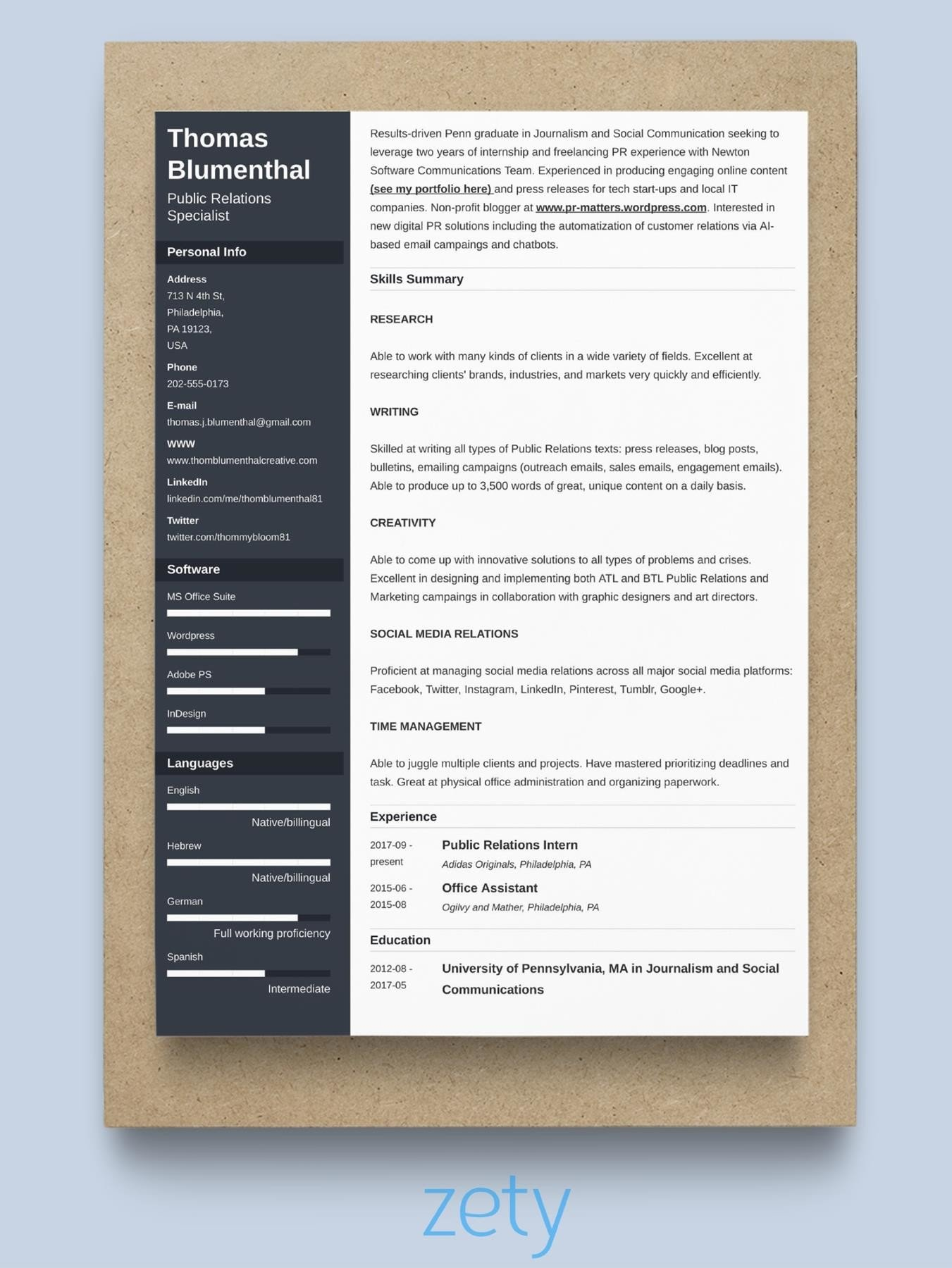 best resume format professional samples effective free motocross template personal Resume Effective Resume Format