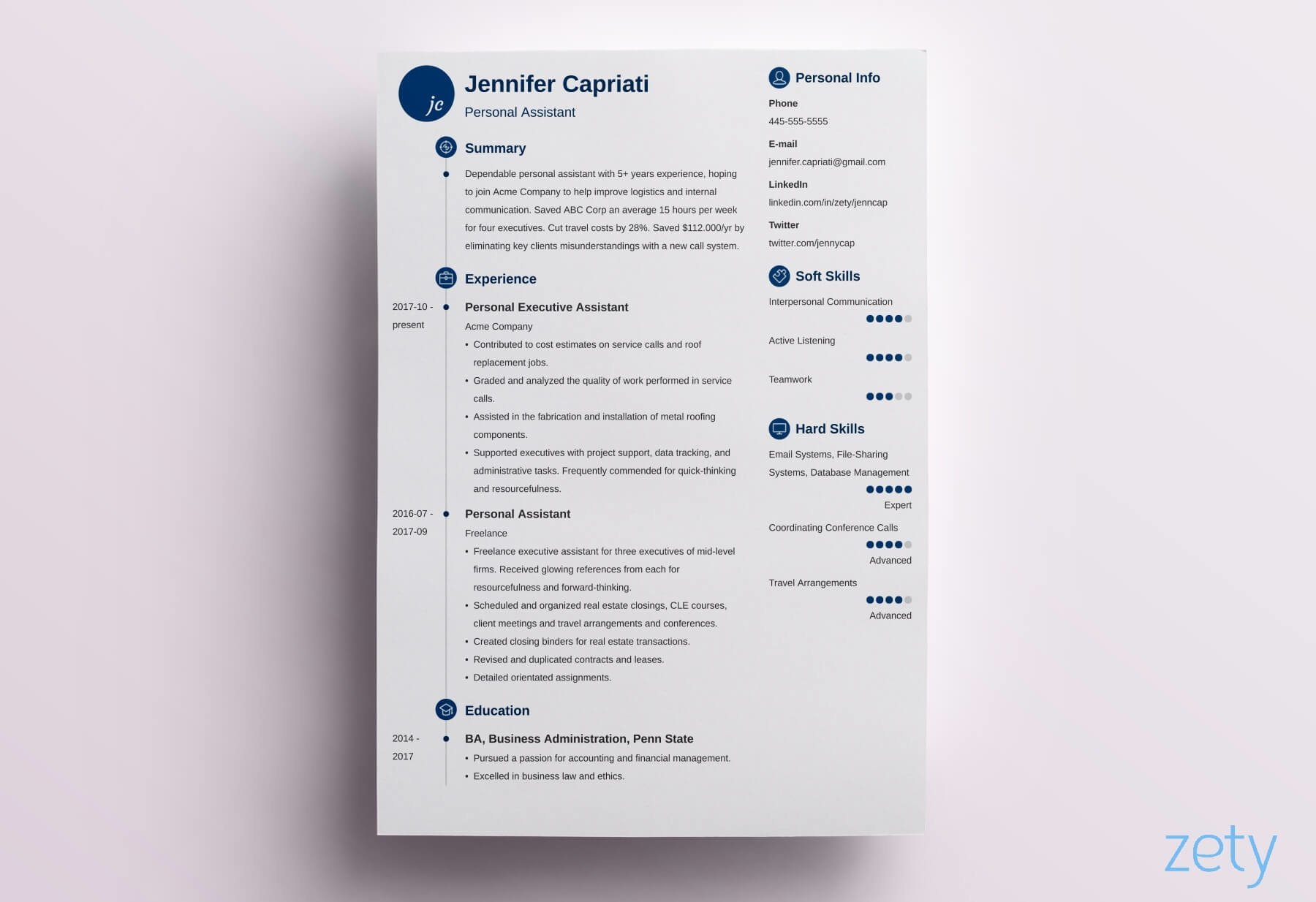 best resume format professional samples guidelines formats primo data entry profile two Resume Resume Format Guidelines