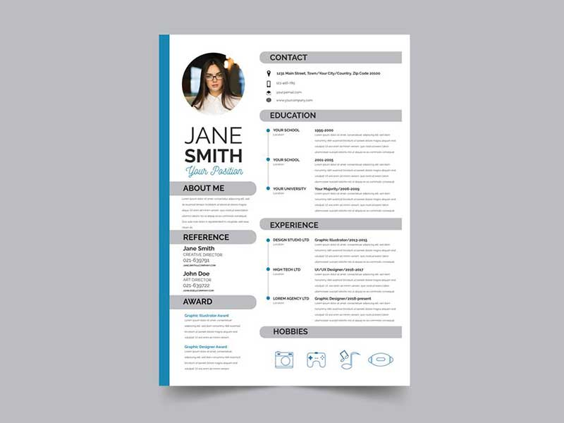 best resume template free graphicslot format for experienced wr target job application Resume Best Resume Format For Experienced Free Download
