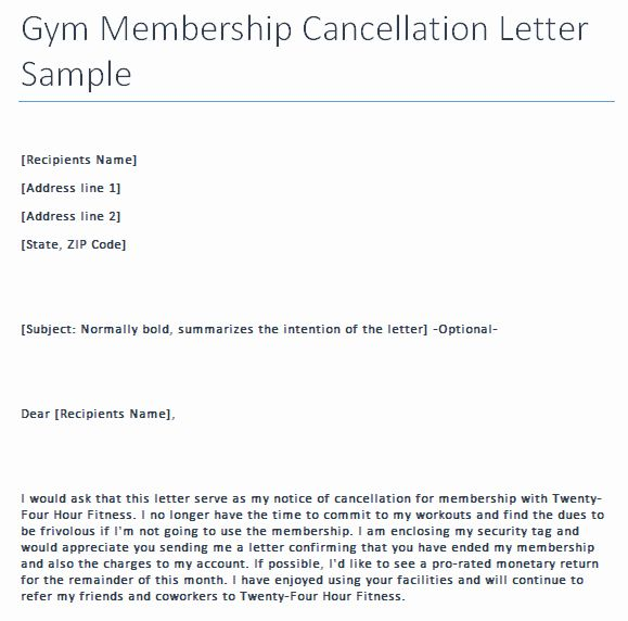bld resume cancel subscription unique gym cancellation letter writing professional Resume Bld Resume Customer Service Number