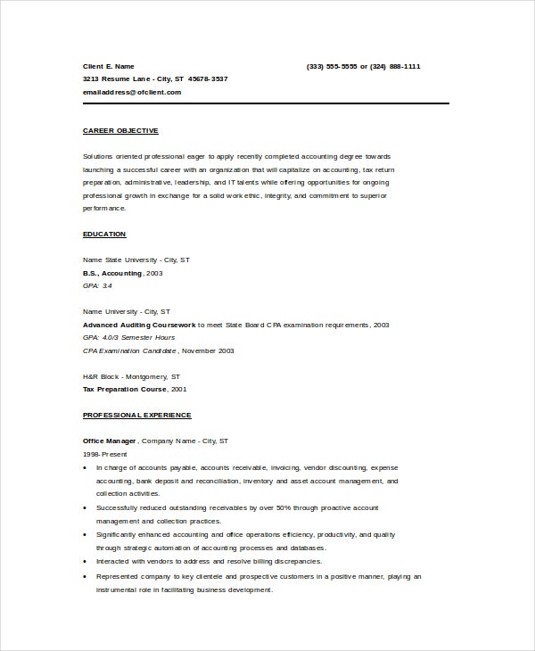bookkeeper resume template free word pdf documents premium templates example entry level Resume Bookkeeper Resume Example