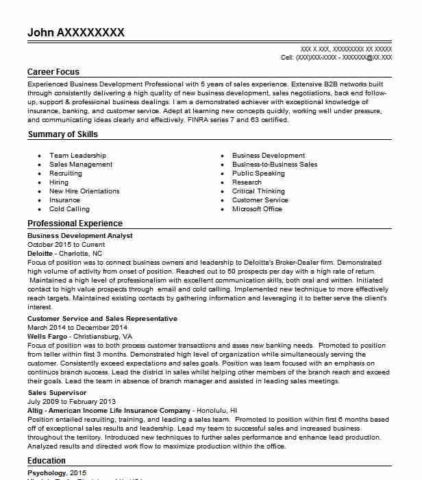 business development analyst resume example bravia executive group elyria administration Resume Business Development Analyst Resume