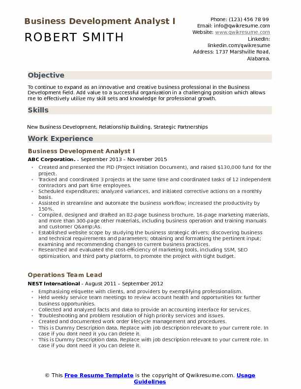 business development analyst resume samples qwikresume pdf best free checker french Resume Business Development Analyst Resume
