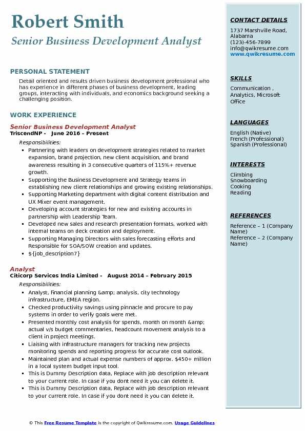 business development analyst resume samples qwikresume pdf please see attached entry Resume Business Development Analyst Resume