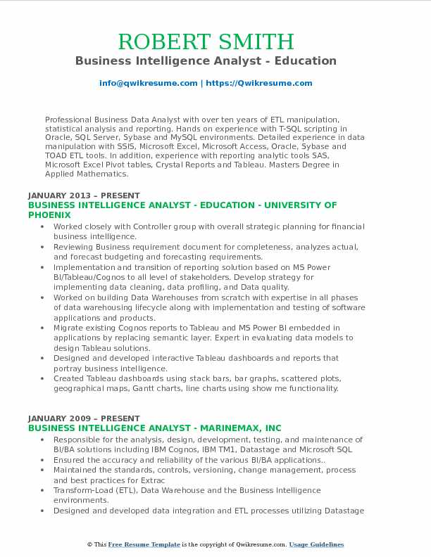 business intelligence analyst resume samples qwikresume oracle pdf honors and awards on Resume Oracle Business Intelligence Resume