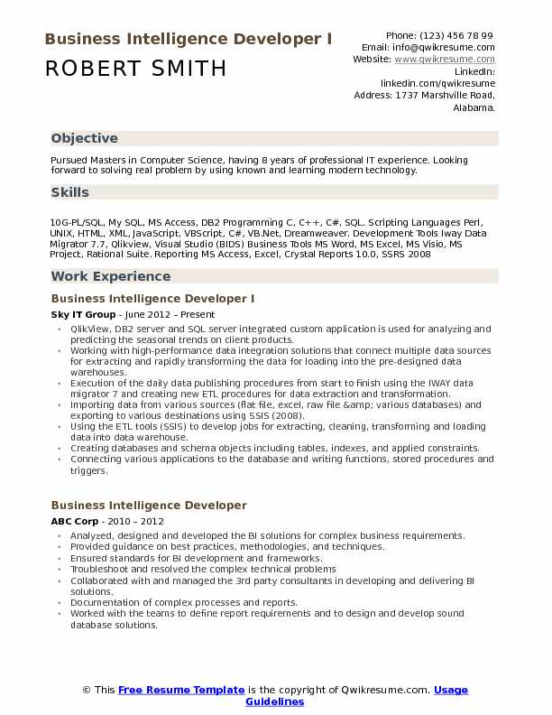 business intelligence developer resume samples qwikresume oracle pdf good objective for Resume Oracle Business Intelligence Resume