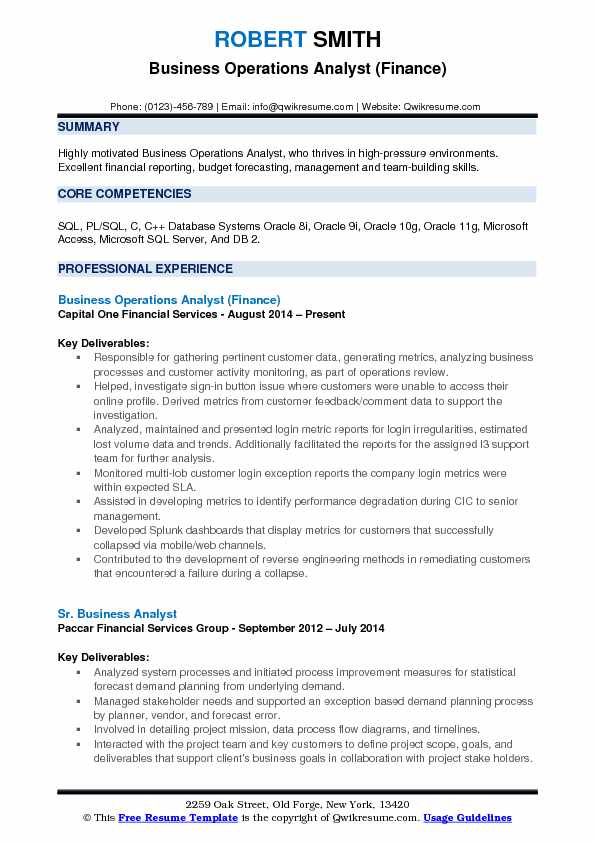 business operations analyst resume samples qwikresume pdf fbi example personal statement Resume Operations Analyst Resume