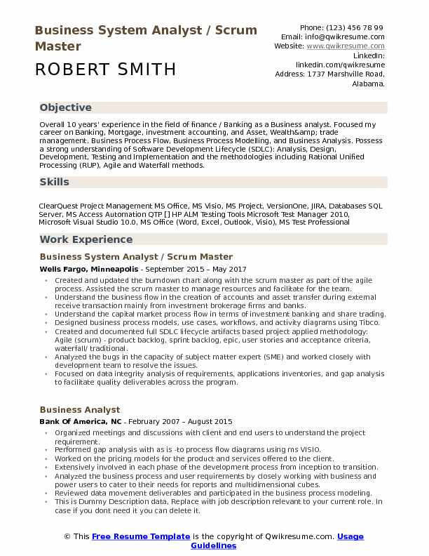 business system analyst resume samples qwikresume over years experience pdf field Resume Over 10 Years Experience Resume