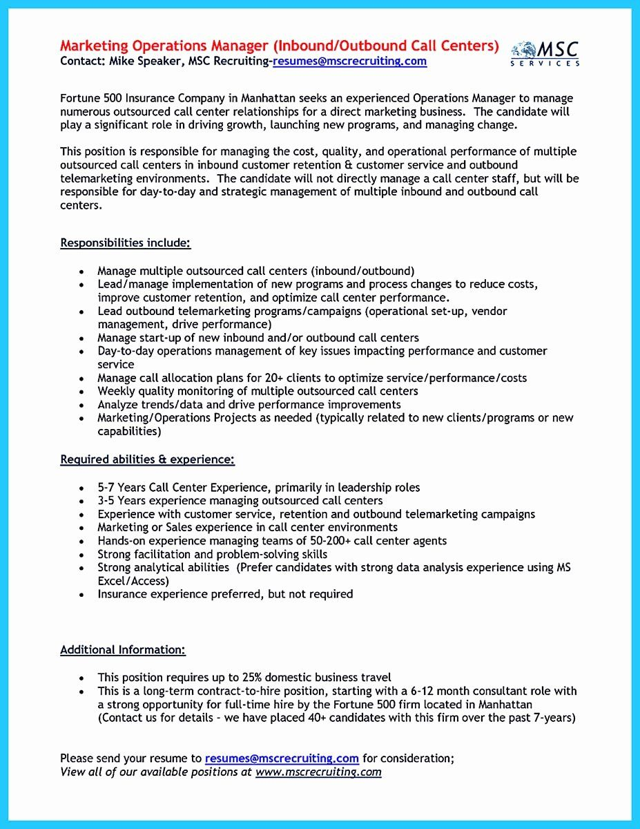call center jobs description resume lovely impressing the recruiters with flawless Resume Telemarketing Responsibilities Resume