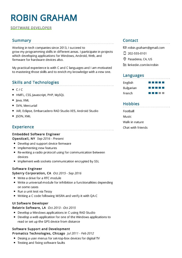 can software engineer write killer resume quora projects for entry level finance samples Resume C++ Projects For Resume