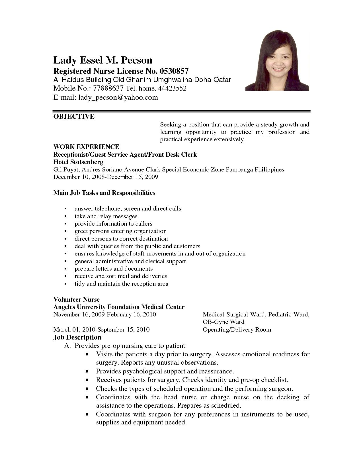 career objective resume examples awesome example applying for job of objectives cover Resume Good Career Objective For Resume
