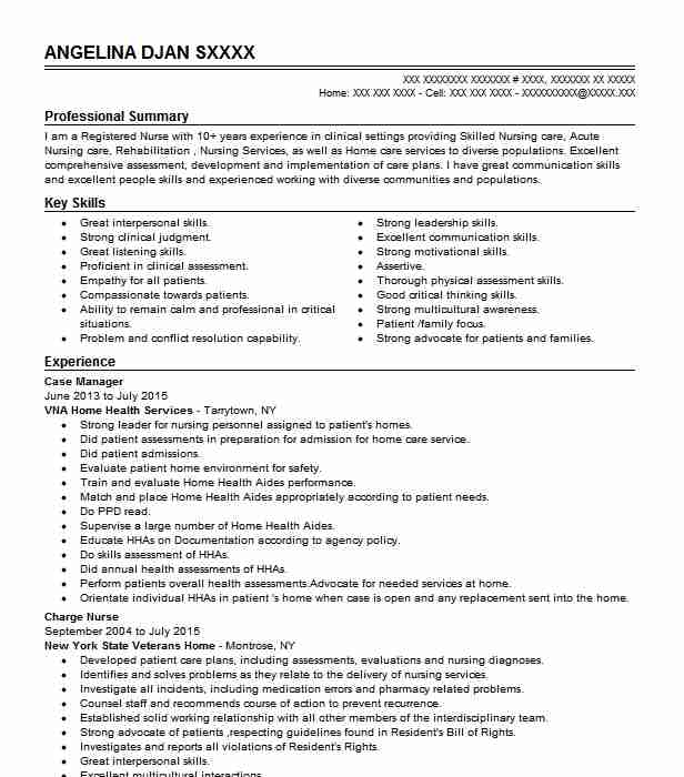 case manager resume example nursing resumes livecareer nurse whats cover letter quality Resume Nurse Case Manager Resume