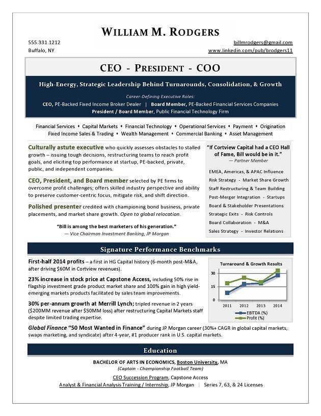 ceo president and coo resume sample writing services executive writer companies non Resume Resume Writing Companies
