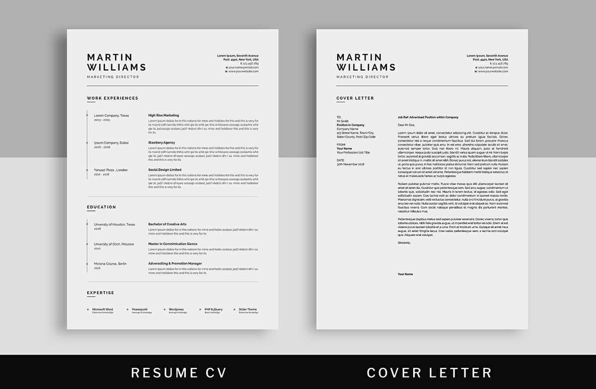clean minimalist resume templates sleek design template word student research assistant Resume Minimalist Resume Template Word