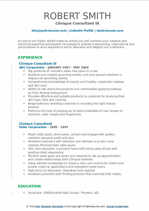 clinique consultant resume samples qwikresume pdf corporate communications director work Resume Clinique Consultant Resume