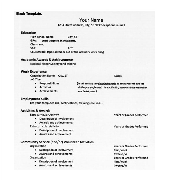 college resume templates pdf free premium for entering admission clinical pharmacist good Resume Resume For Entering College
