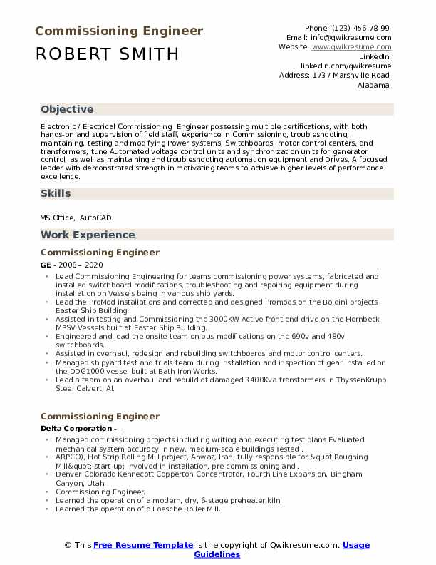 commissioning engineer resume samples qwikresume piping field pdf example summary for Resume Piping Field Engineer Resume
