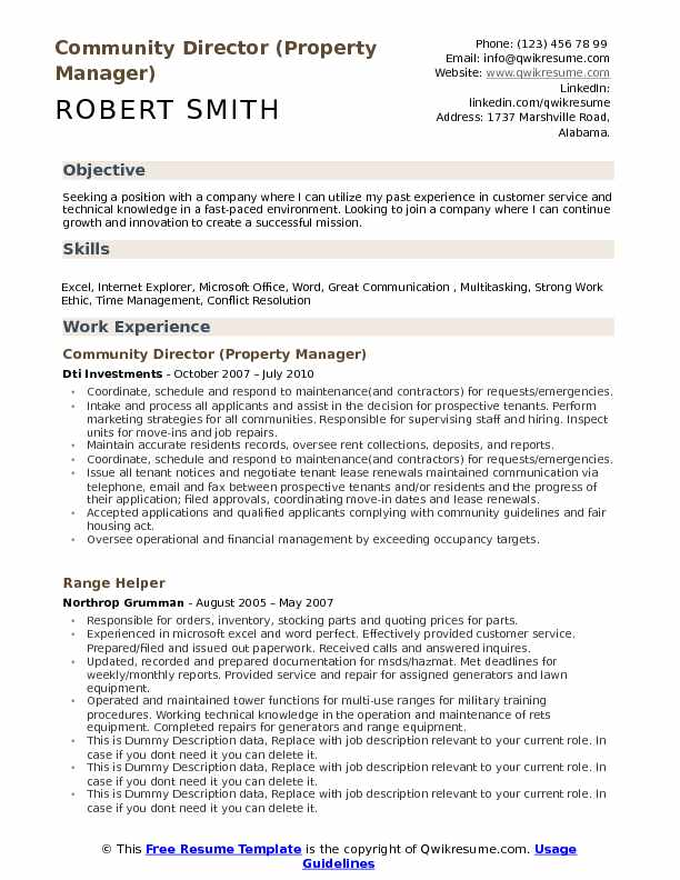 community director resume samples qwikresume examples for position pdf stanford career Resume Resume Examples For Director Position