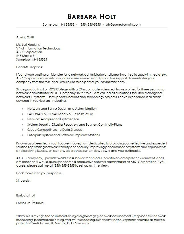 computer science cover letter sample monster resume first time job examples adjunct Resume Science Resume Cover Letter