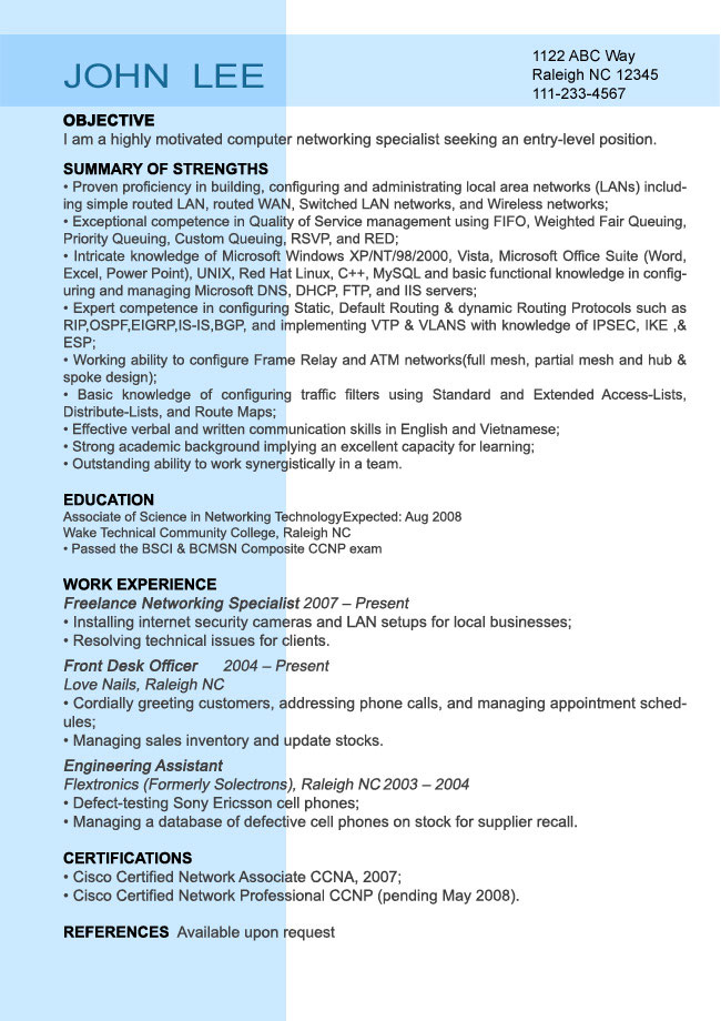 computer science lecturer resume samples for teacher fresher res entry coldfusion Resume Resume For Computer Teacher Fresher