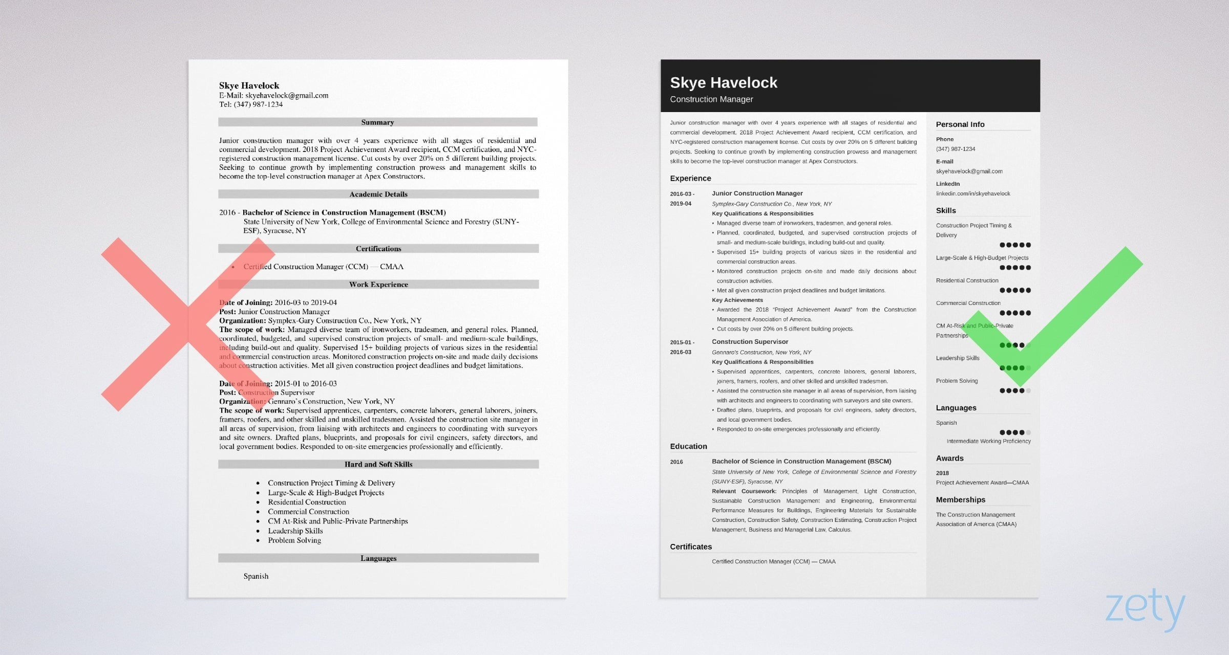 construction manager resume sample objective skills examples example underwriter entry Resume Construction Manager Resume Objective Examples