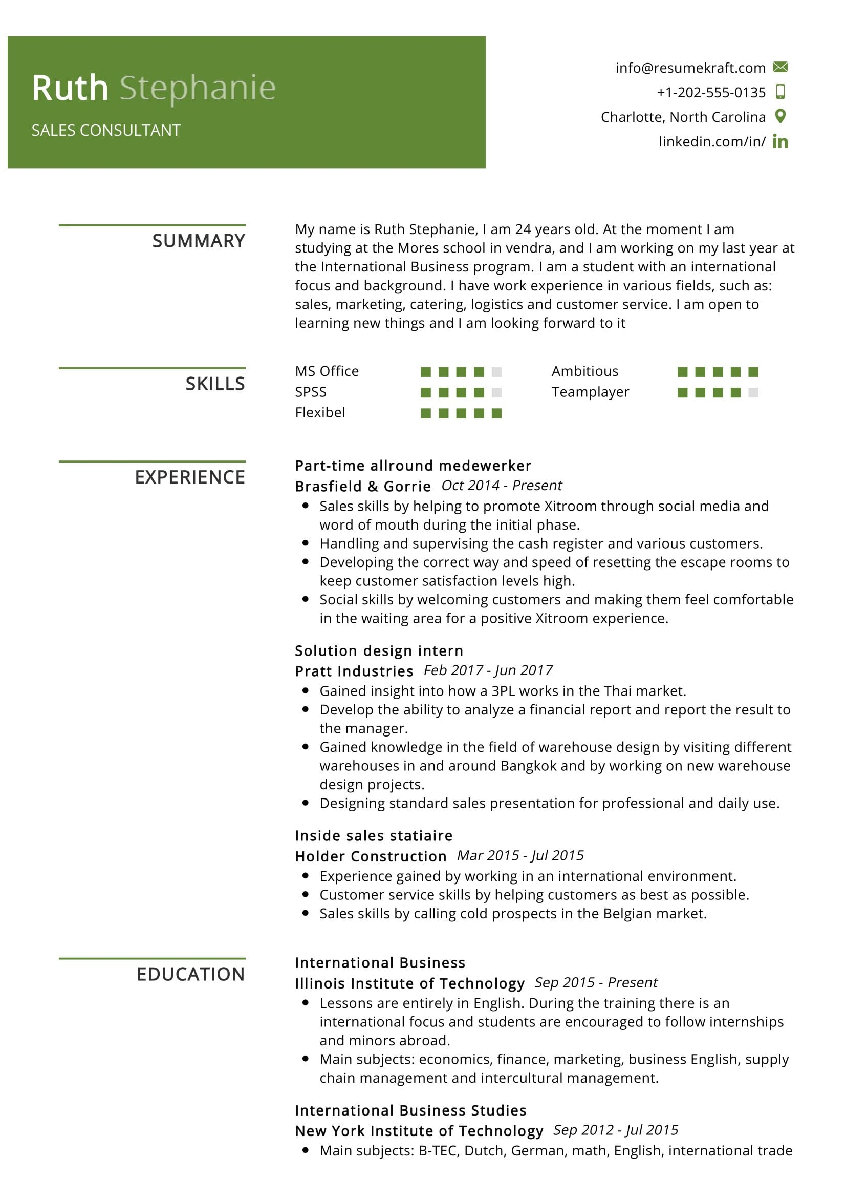 consultant resume sample resumekraft technologies tec transcription summary construction Resume Resume Technologies Resume Tec