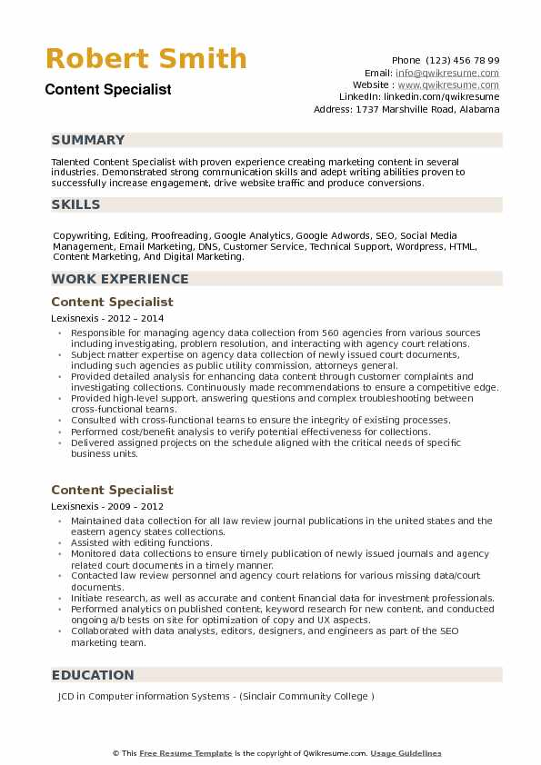 content specialist resume samples qwikresume marketing pdf general template for honors Resume Content Marketing Resume