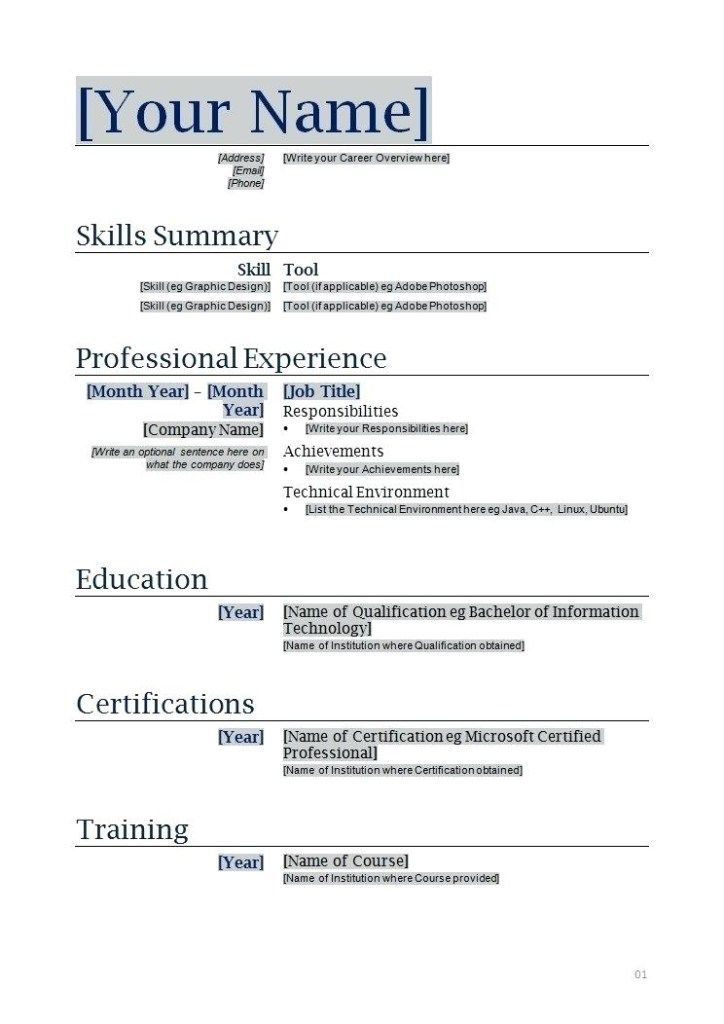 copy resume template fitbowpartco functional free printable templates of format junior Resume A Copy Of A Resume Format