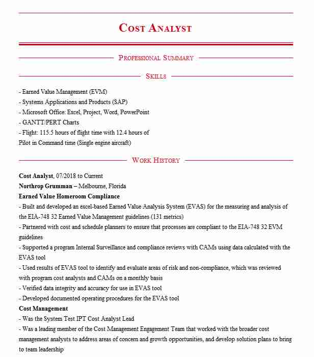 cost analyst resume example dfss district of senior data transcriber riverdale saison Resume Senior Cost Analyst Resume