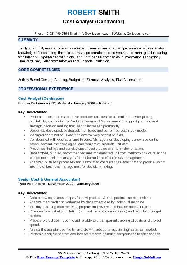 cost analyst resume samples qwikresume senior pdf building project manager information Resume Senior Cost Analyst Resume