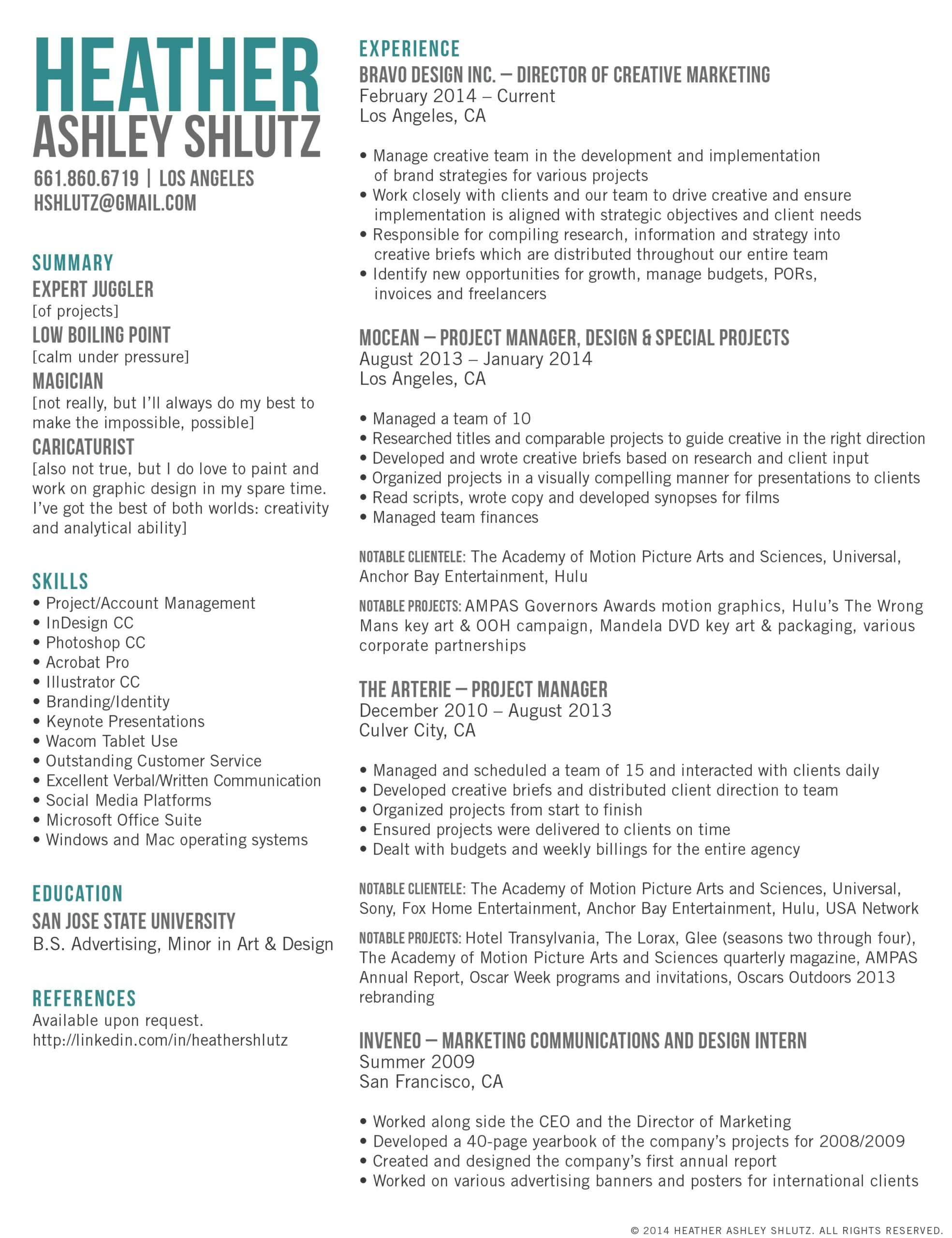creative director of marketing resumes resume job examples career templates summary for Resume Creative Marketing Resume Templates