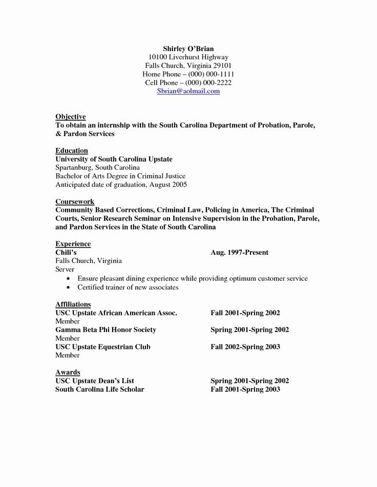 criminal justice resume examples beautiful objective res in cover letter for sample Resume Criminal Justice Resume Sample